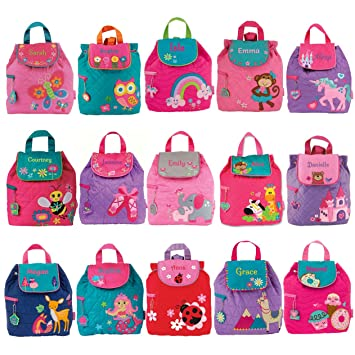 School Bag Nursery Personalised Butterfly Backpack Kids Ruck Sack Girl Bag