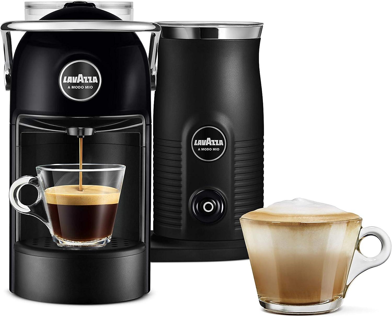 Lavazza A Modo Mio Jolie & Milk Coffee Machine, with Milk Frother, Black HALF PRICE £64.50 @ Amazon