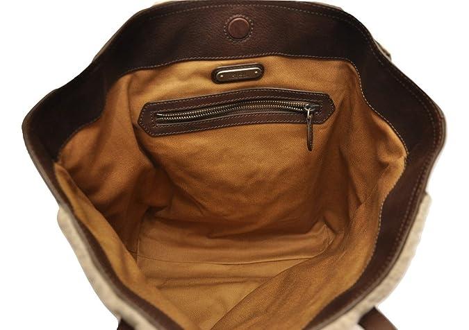 Amazon.com  Polo Ralph Lauren Genuine Shearling Leather Tote Bag ... 3b9f2d45d3c0f