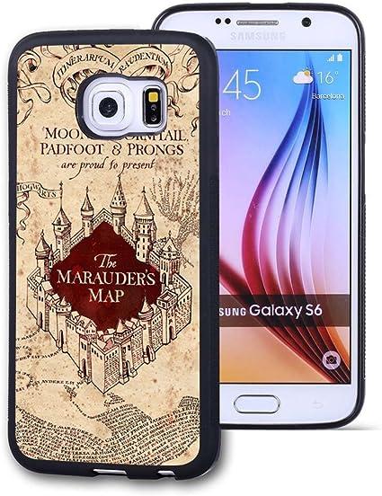 Samsung Galaxy S6 Case Funda Personalizada Negro Goma Suave Tpu Para Samsung Galaxy S6 Caso De Harry Potter Harry Potter Galaxy S6 No Apropiado Para Galaxy S6 Edge