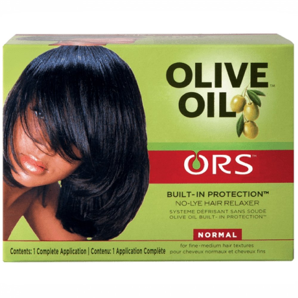 ORS Olive Oil No Lye Relaxer Kit, Normal 1 ea (Pack of 3)