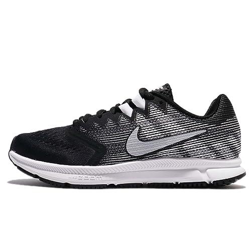 more photos 46b94 1f817 Nike Wmns Zoom Span 2, Scarpe da Trail Running Donna, Multicolore  (Black/Metallic Silver/Dark Grey/White 001), 44.5 EU: Amazon.it: Scarpe e  borse