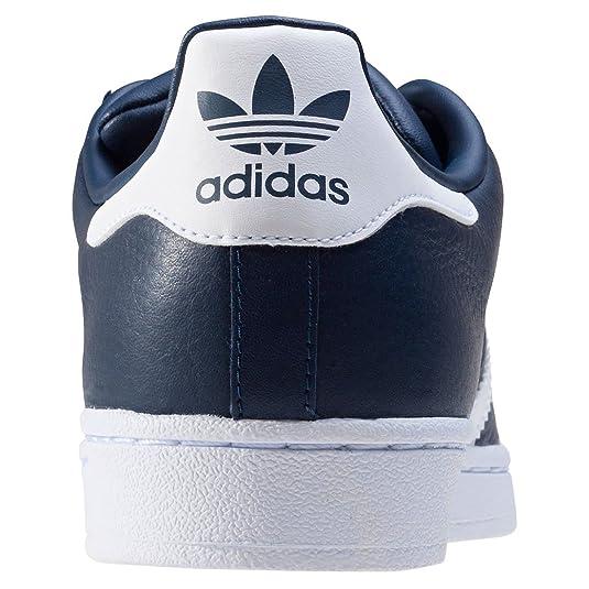 9694d70621ef0f adidas Superstar Herren Sneakers Navy White - 11.5 UK  Amazon.de  Schuhe    Handtaschen
