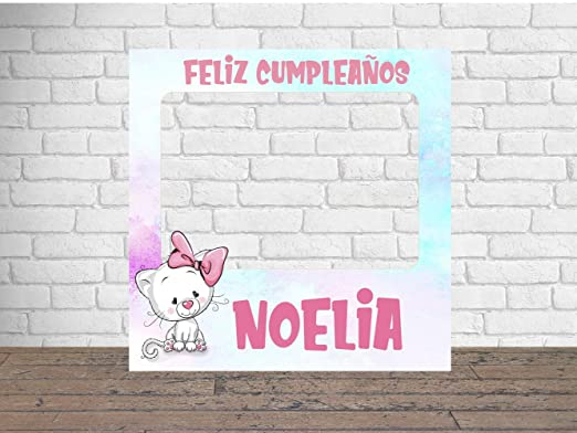 Photocall Feliz Cumpleaños 1x1m | Detalles Cumpleaños ...