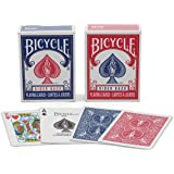 Bicycle Mini Decks Playing Cards, Red/Blue