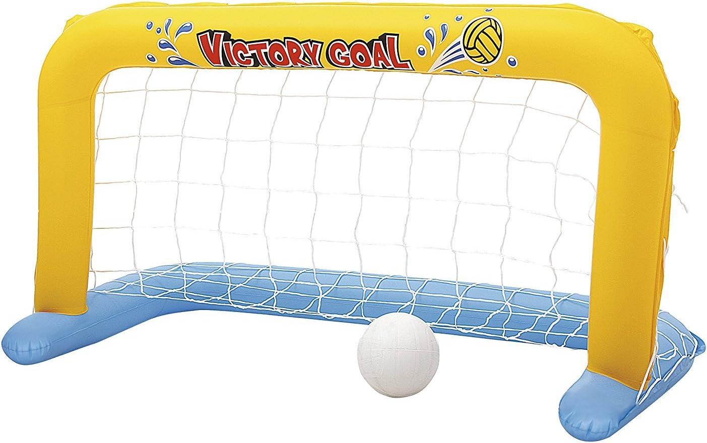 Urban diseño balón de agua Set portería fútbol portería hinchable Agua, Con Red De Baño Diversión Piscina Water Polo + Bomba