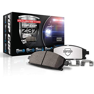 Power Stop Z37-1058 Z37 Top Cop Severe-Duty/Fleet Brake Pad: Automotive