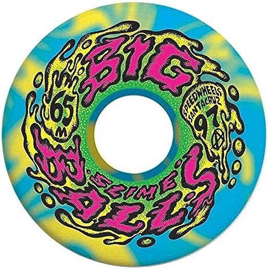 Santa Cruz Slime Balls Slime Web Speed Balls 54mm 99a Pink Skateboard Wheels