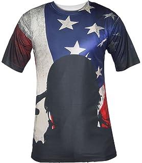 c0391168a8078 USA Stars   Stripes Wayfarer Aviator Sunglasses Retro 80 s Fashion ...