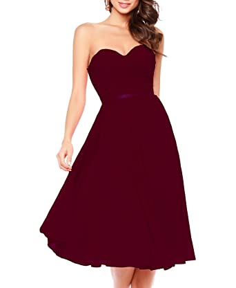 Ladsen Short Chiffon Bridesmaid Dresses 2017 Plus Size Gowns