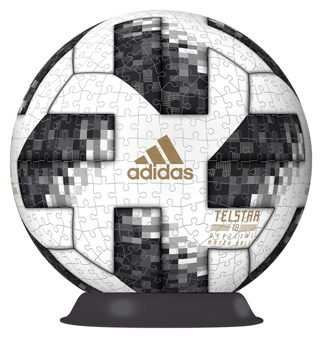 Adidas 2018 World Cup PuzzleBall 540 Piece 3D Puzzle Ravensburger 12437