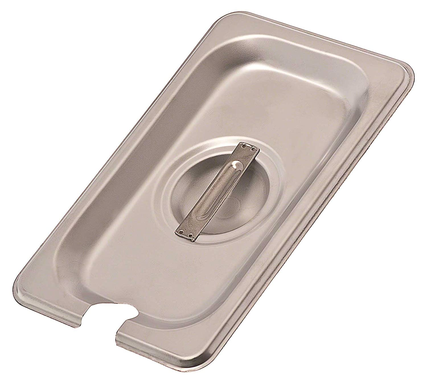 Browne Foodservice (CP8192NC) Ninth-Size Notched Steam Table Pan Cover food service warehouse