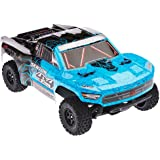 ARRMA SENTON 4x4 MEGA Electric RC RTR Remote Control 4WD Short Course SC Truck with 2.4GHz Radio, 7C 2400mAH NiMH, Charger, 1:10 Scale (Blue/Black)