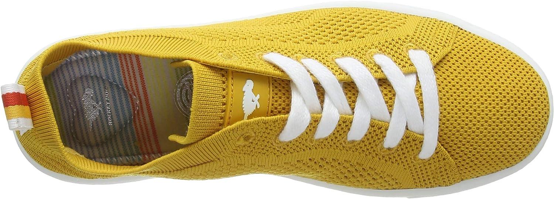 Raket hond vrouwen Tibor Trainers Yellow (Eng. Knit Yellow P00)