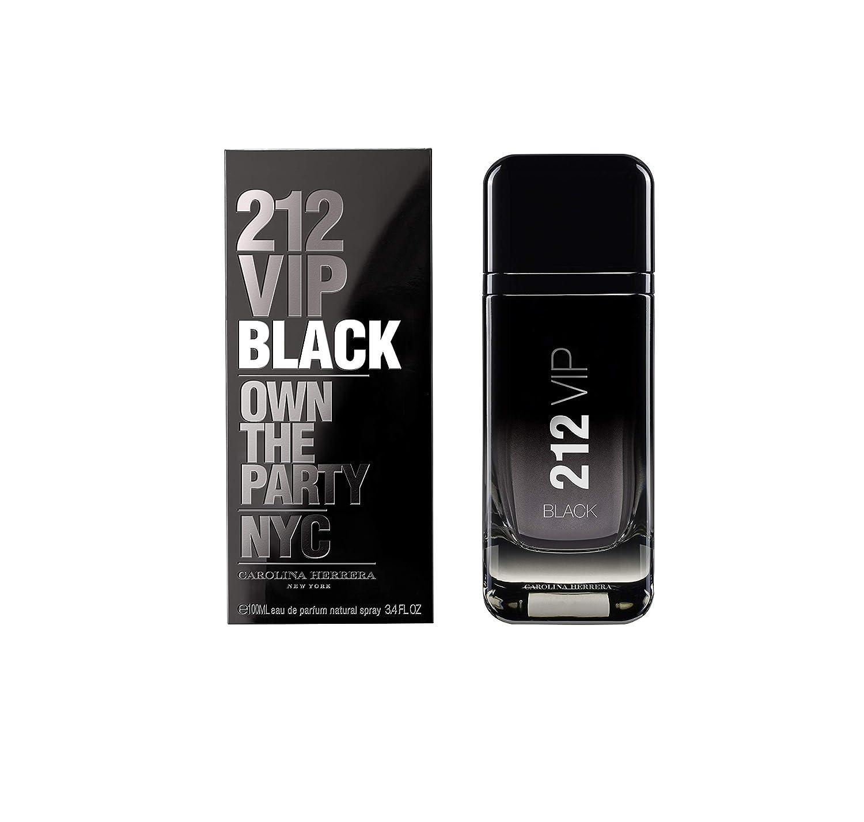 Carolina Herrera 212 Vip Black Agua de Perfume Vaporizador - 100 ml: Amazon.es: Belleza