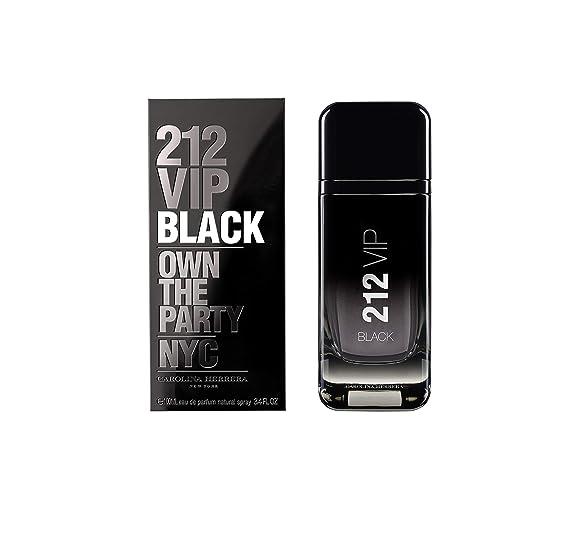 Carolina Herrera 212 Vip Black Eau de Parfum Spray - 100 ml  Amazon.co.uk   Beauty 95de8c795c
