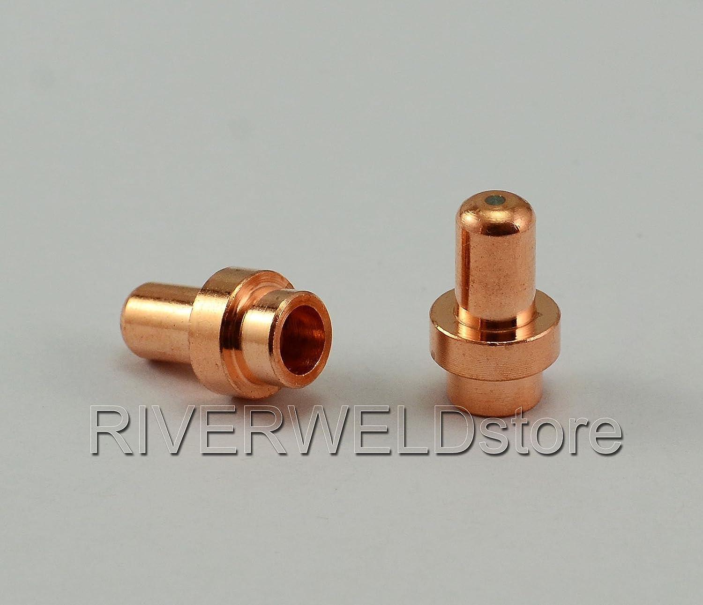 Plasma Electrode C1304 PR0016 PD0088-10 Tip 1.0 Fit CEBORA CP-50 Trafimet CB50 20pcs C1521