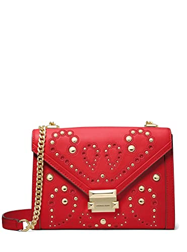 4c4a7f64d99 Image Unavailable. Image not available for. Color  MICHAEL Michael Kors  Whitney Large Leather Convertible Shoulder Bag ...