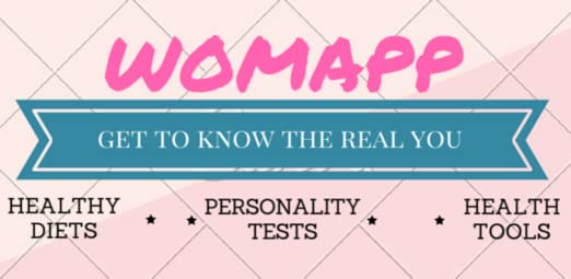 Amazon.com: WomApp Diets Personality Tests Health Tools ...