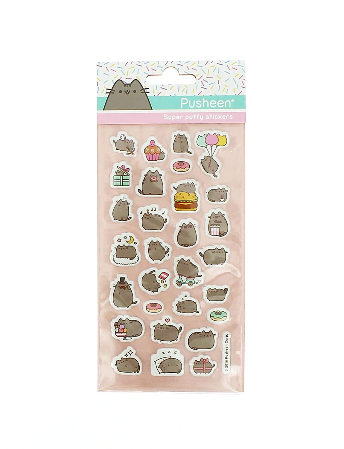 Blueprint Collections Pusheen - Set con pegatinas: Amazon.es ...