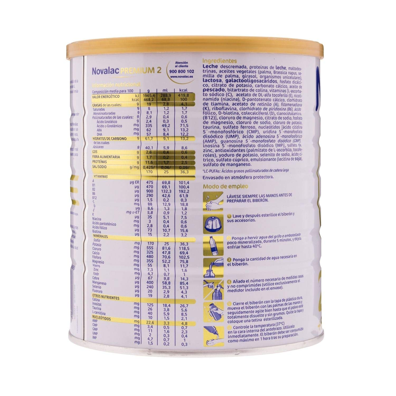 Amazon.com: Novalac Premium 2800g - Follow-on milk with protection ...