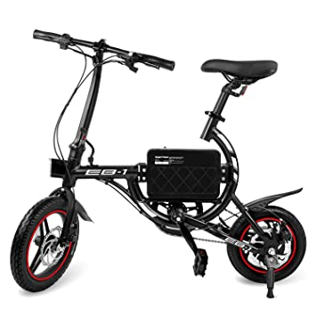 Amazon.com: SwagCycle EB-1 - Bicicleta eléctrica clásica ...