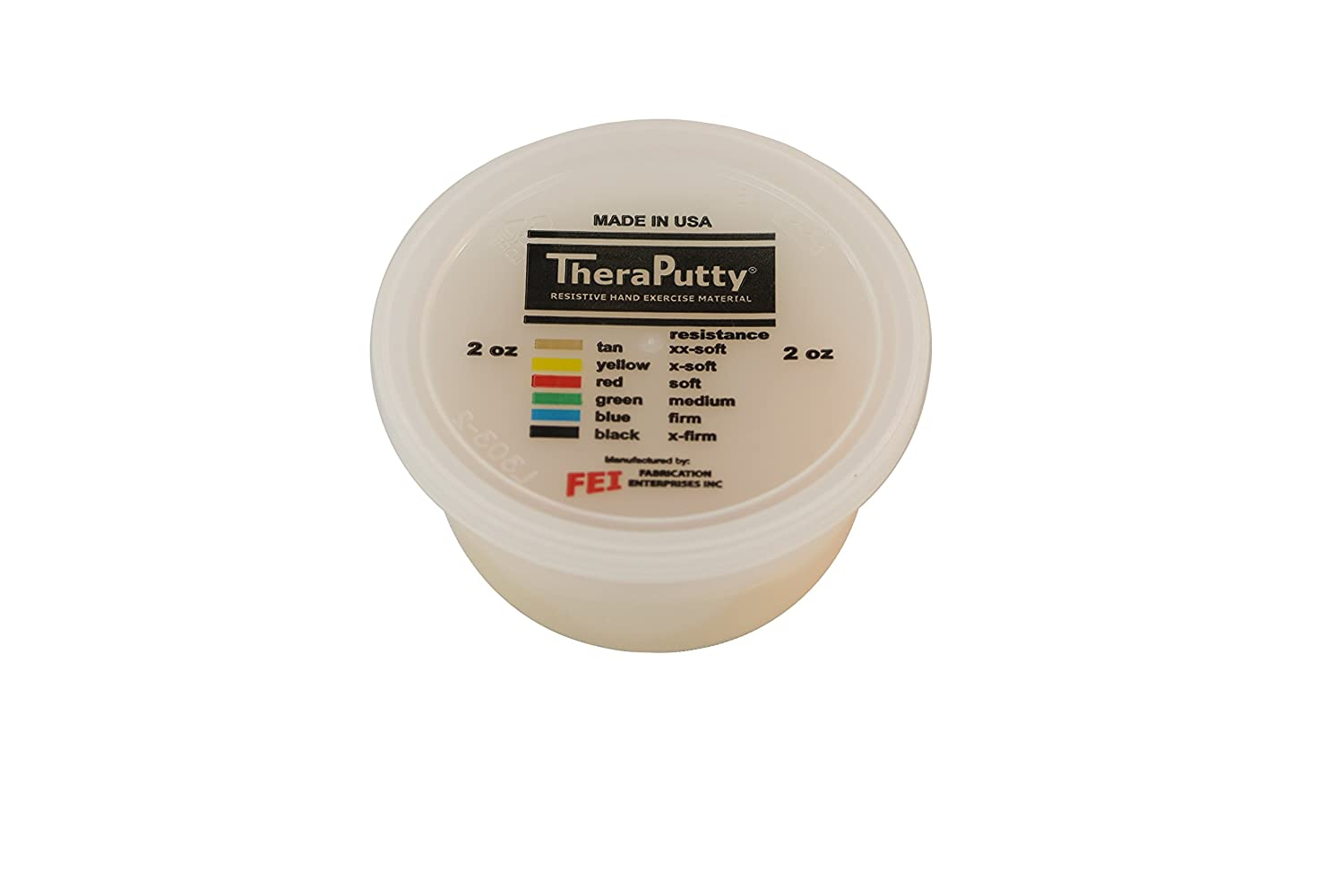 CanDo 10-2760 Scented Theraputty Exercise Material, 2 oz, Vanilla-Tan-XX-Soft: Industrial & Scientific