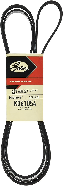 Gates K061054 Premium Automotive V-Ribbed Belt