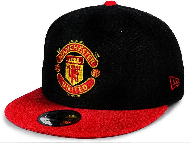 New Era 9Fifty Manchester United Football Club Kids Black Snapback Cap Hat