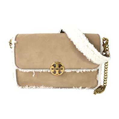 fe48258bb12 Image Unavailable. Image not available for. Color  Tory Burch Chelsea  Shearling Convertible Shoulder Bag ...