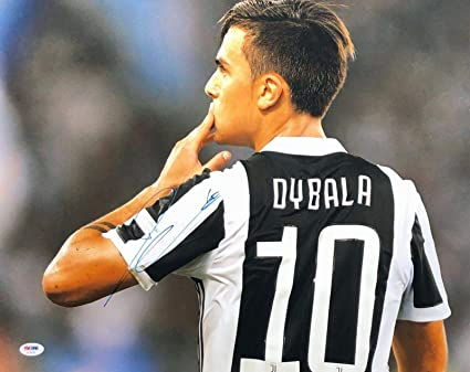 purchase cheap d01f0 24966 Paulo Dybala Signed 16x20 Soccer Photo *Juventus AE46760 ...
