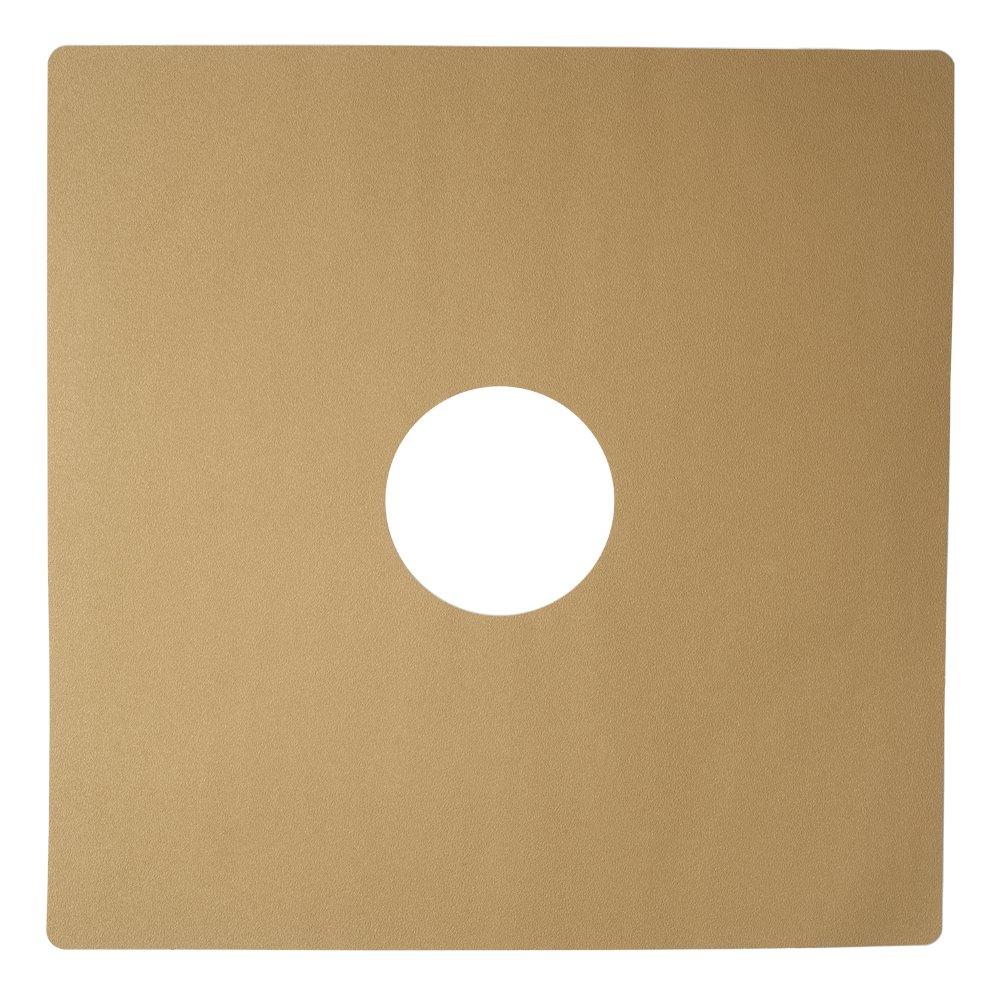 Jessup 4100-24 by 24 Flex Track Fine Grade Non Slip 24-Inch by 24-Inch Sandstone Rectangle Bath/Shower Mat, 6-Pack