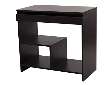 DEV MODULAR FURNITURE CPT - 31510 Engineered Wood Computer Table Series (Flowery Wenge)