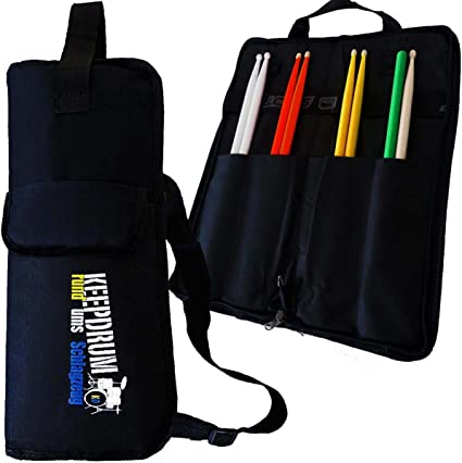 SB de Keepdrum 01 Nylon Drum Stick Bag Stick bolso baquetas + + + +: Amazon.es: Instrumentos musicales