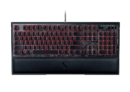 Razer Ornata Chroma - Teclado de Gaming (edición Destiny 2, Membrana mecánica, Efectos de iluminación Chroma) Negro - QWERTY español