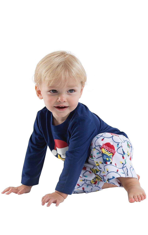 PajamaGram Kids Christmas Pajamas Minions Christmas Pajamas Toddler and Infant GAMV06044