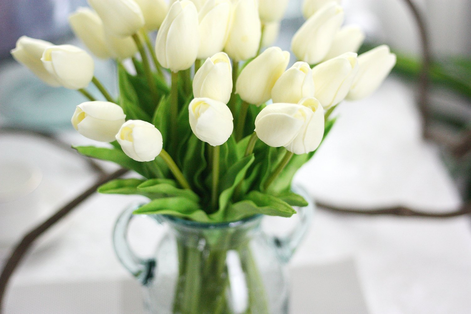 SHSYCER-20pcs-Tulip-Flower-Home-Garden-Hotel-Party-Event-Christmas-Wedding-Gift-Decoration-Artificial-Flowers-Nearly-Natural