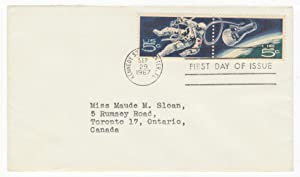 United States Space Accomplishments Postage Stamp (Se-Tenant Pair) Original First Day Cover # 1331a