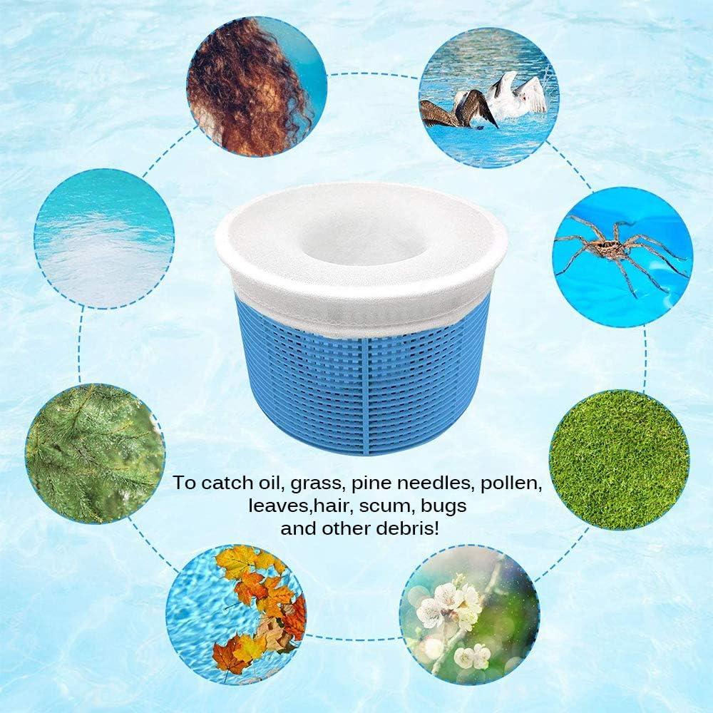 1 Set Elastisch Dehnbar Nylon Schwimmbad Filter Socken Für Pool Aufbewahrung #R