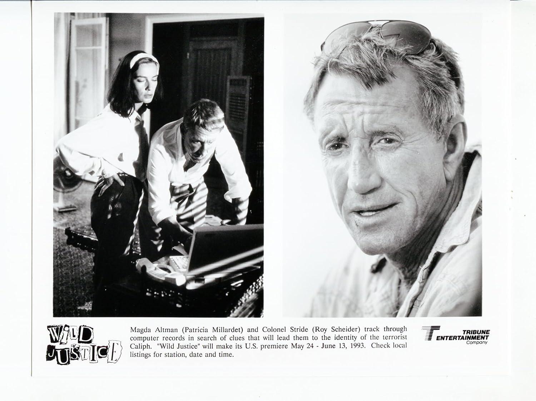 MOVIE PHOTO: Wild Justice-Roy Scheider-Patricia Millardet-8x10-B&W ...