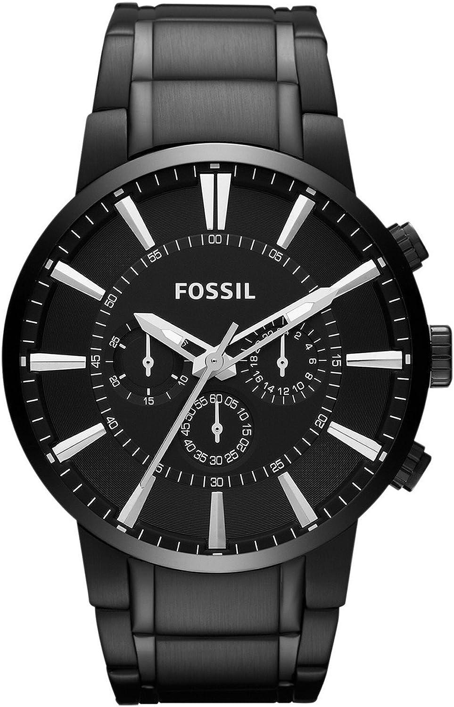 Fossil Reloj Cronógrafo para Hombre de Cuarzo con Correa en Acero Inoxidable FS4778