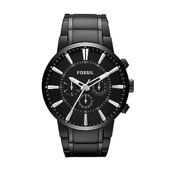 Moderne armbanduhr herren  Fossil Herren-Armbanduhr Chronograph Quarz Edelstahl FS4778 ...