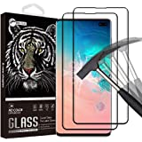 Pomufa [2PACK] LOK01 Tempered Glass Screen Protector for Galaxy S10,[HD][No-Bubble][Scratch-Resistant][Anti-Fingerprint] Glass Screen Protector for Samsung Galaxy S10