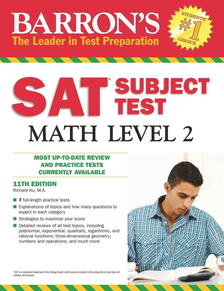 Sat Subject Test Math Level 2 Barrons Sat Subject Test Math – Sat Math Worksheet