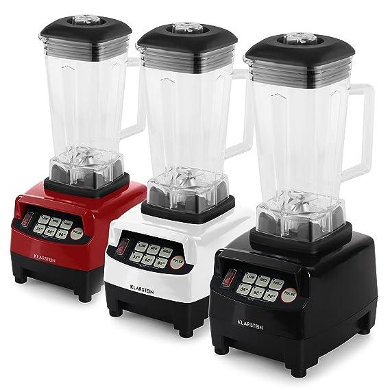 Klarstein Herakles 5G • Mezcladora de alto rendimiento • Batidora de vaso • Incluye una carcasa que reduce el ruido • 1500 W • 40.000 rpm • 2 litros ...
