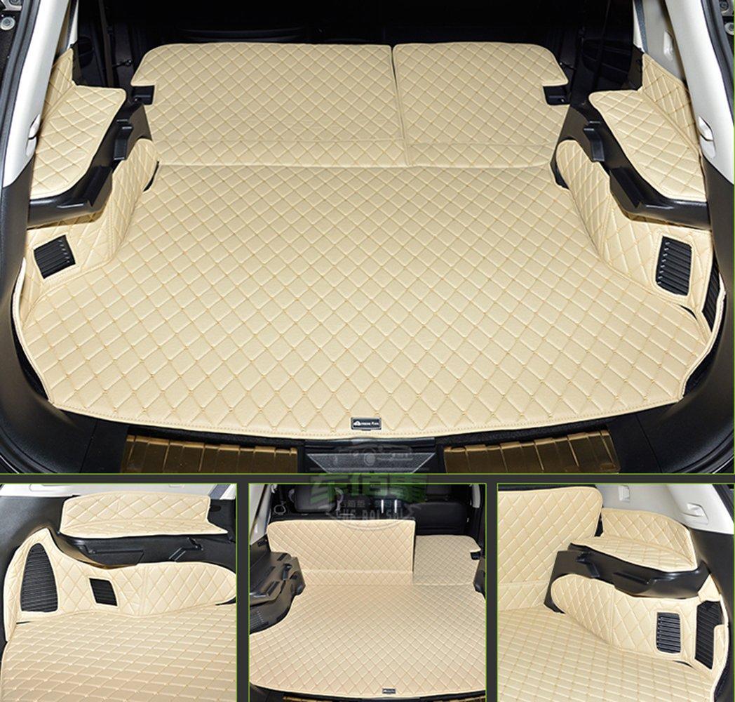 Pegasuss(ペガサス)【日産エクストレイル5席2014-2016/Nissan X-Trail 5 Seat 2014-2016】専用設計車のトランクマットラゲッジマット防水 - ベージュ B01E3QCMSO 日産エクストレイル 2014-2016|ベージュ ベージュ 日産エクストレイル 20142016