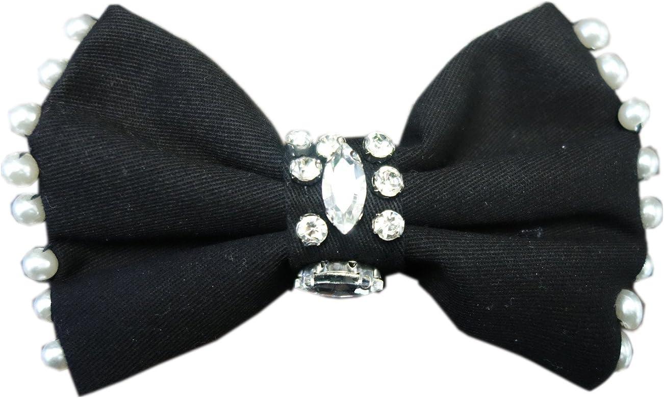 Choker corbata pajarita Collar Lazo Perlas brillantes Blogger ...