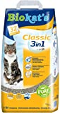 Biokats Classic 3in1 Katzenstreu   Hochwertige Klumpstreu für Katzen mit 3 Unterschiedlichen Korngrößen