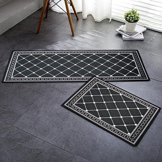 yizunnu Felpudo para interiores alfombrillas alfombras – entrada exterior interior antideslizante entrada alfombra alfombrillas: Amazon.es: Jardín