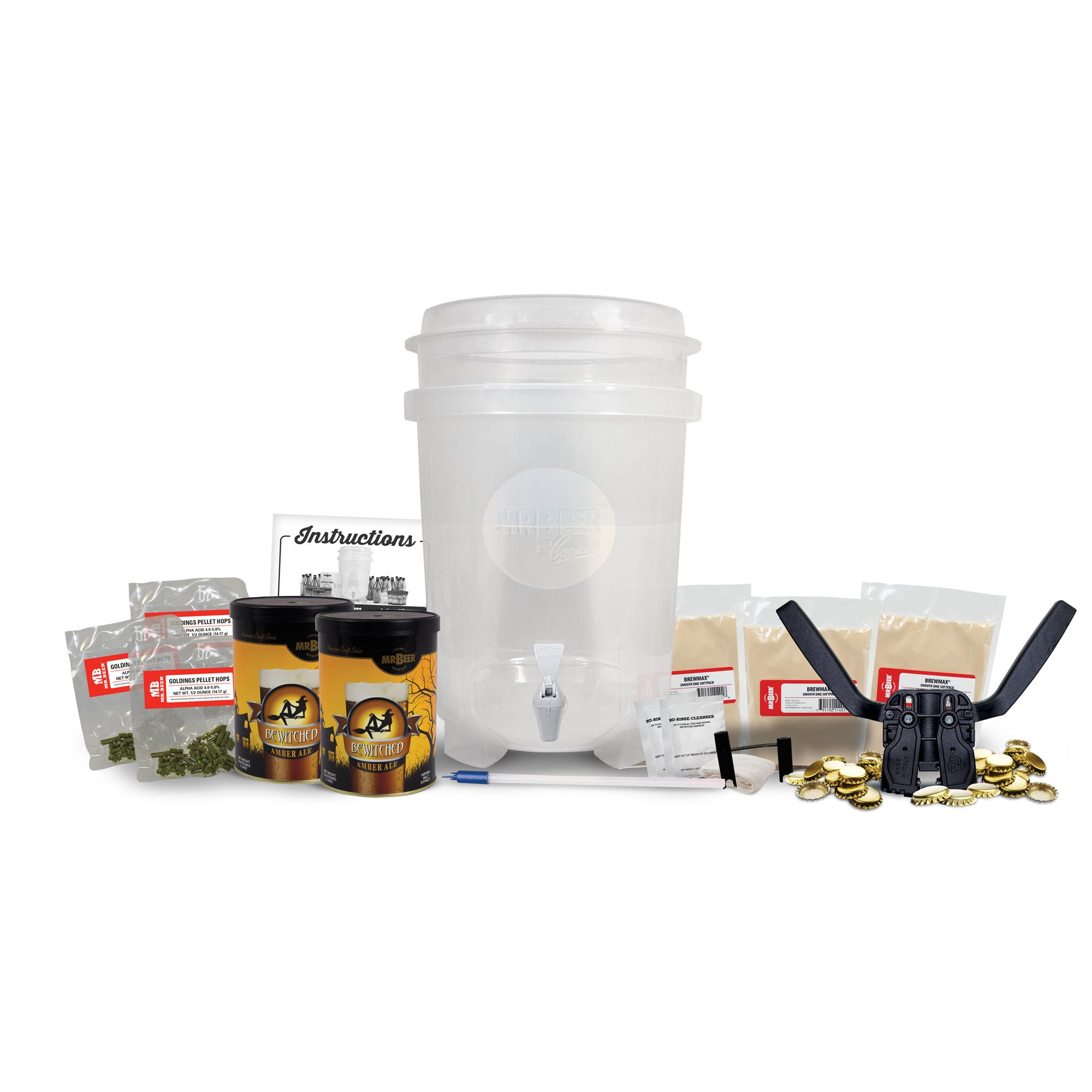 Mr. Beer Brewmax 6 Gallon Homebrewing Craft Beer Making Kit